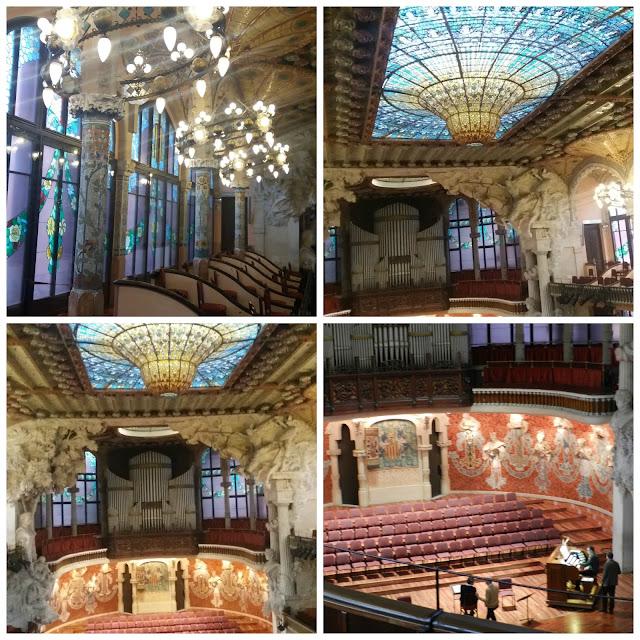 Palau de la Musica Catalana - Barcelona