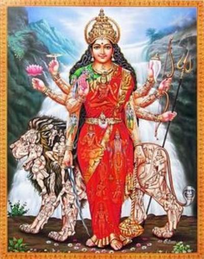 Hindu Goddess buddhi wallpaper