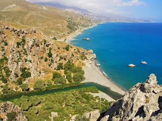 Palm Beach, Kreta. Palm Beach Crete