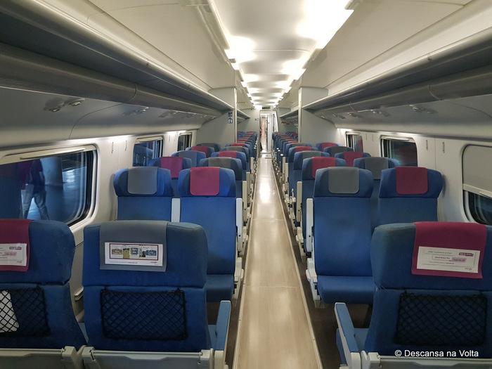 Trem da Renfe Espanha