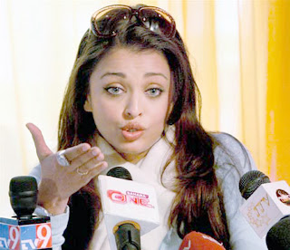 Aishwarya Rai Talking To Press