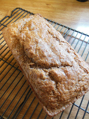 """Time Management Bread"", whole grain beer bread, delicious!"