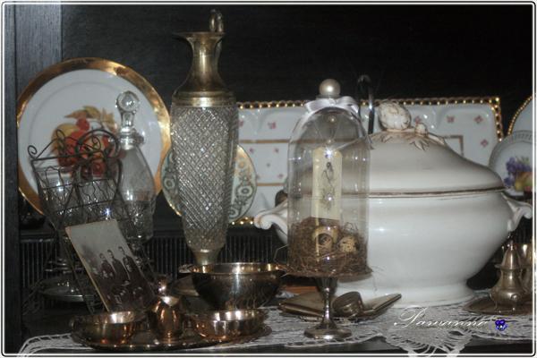 Wielkanocne ozdoby, styl vintage, old nest, Easter decorations, recykling plasykowej butelki