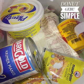 Resepi Donut Simple