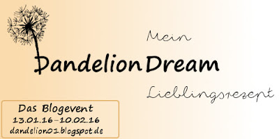Blogevent Dandelion Dream