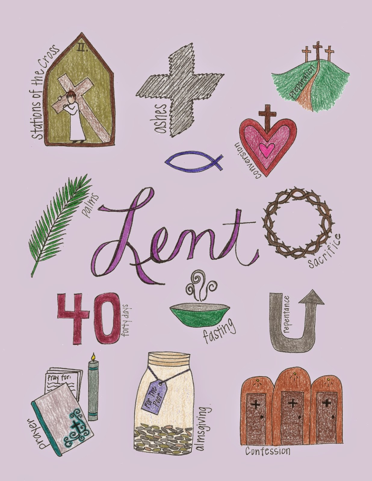 Look To Him And Be Radiant What Lent Looks Like