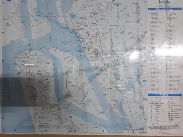 Lignes Ferries à Ernakulam