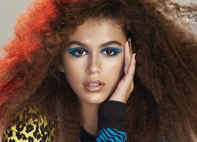 Marc Jacobs Beauty Spring 2017 featuring Kaia Gerber