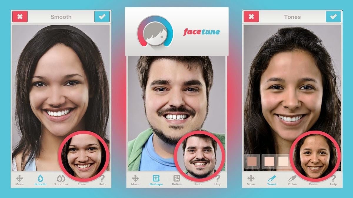 Facetune Um Photoshop Para Seu Andoid E Ios Apk Full Download