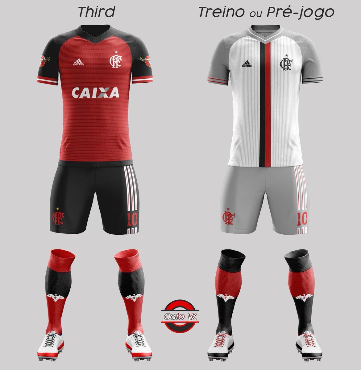 ebd548b1ee793 Projeto de uniforme para o Flamengo - Arte   CRFwerneck