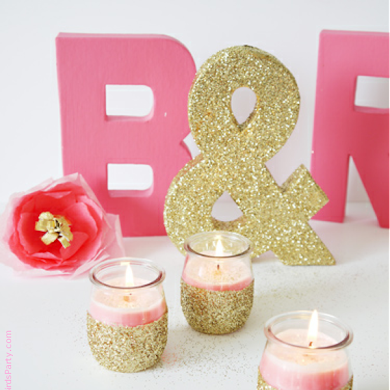 DIY Candle Crafts with GoodHousekeeping.com