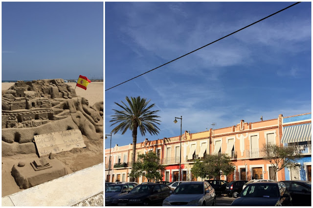 Stadtstrand Playa de la Malvarossa Valencia