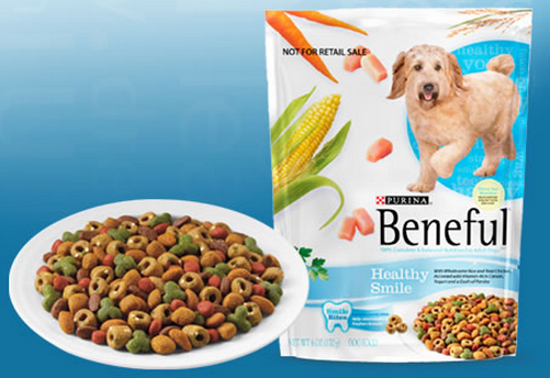 FREE Beneful dog food sample..