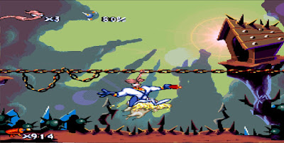 Earthworm Jim - Snes - Captura 2