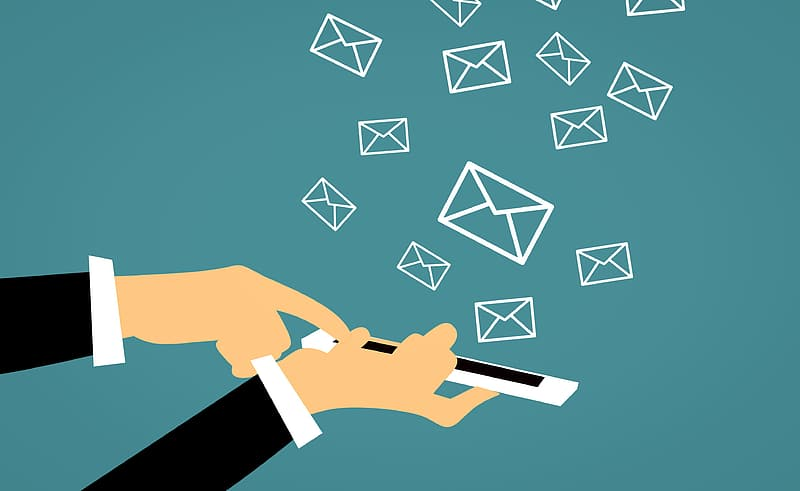ilustrasi email marketing