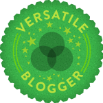 Versatile Blogger Award - Blog awards