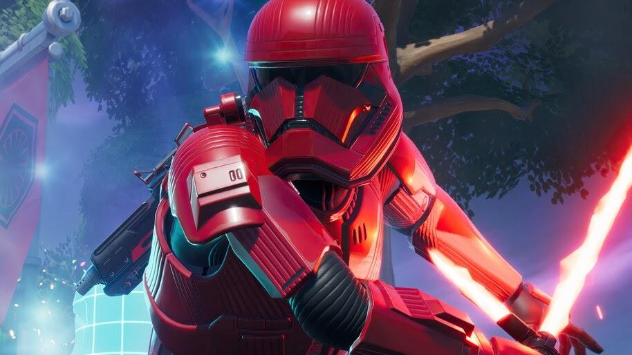 Sith Trooper, Lightsaber, Fortnite Battle Royale, 4K, #7.893