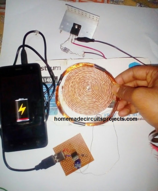 wireless cellphone charging practical testing