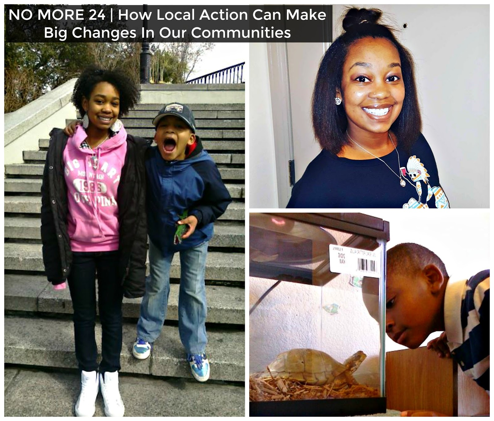 NO MORE 24   How Local Action Can Make Big Changes In Our Communities