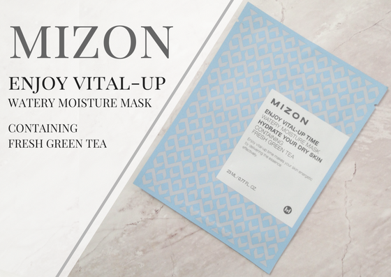 ZAMASKOWANA ŚRODA | MIZON ENJOY VITAL-UP WATERY MOISTURE MASK