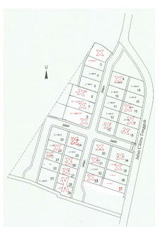 Siteplan Rumah dijual di Cibiru Bandung