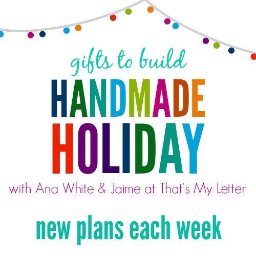 handmade holiday gift build series