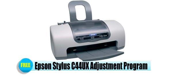 Epson Stylus C44UX Adjustment Program