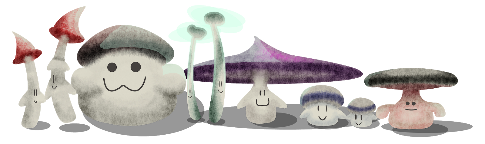 https://www.deviantart.com/rhukii/art/Shrooms-in-a-row-792993577