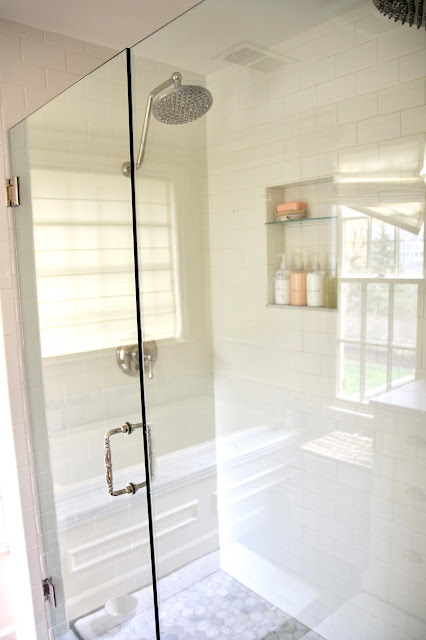 Jenny Steffens Hobick Our Master Bathroom White Ivory