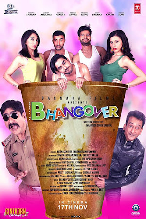 Poster Of Hindi Movie Journey Of Bhangover 2017 Full HD Movie Free Download 720P Watch Online