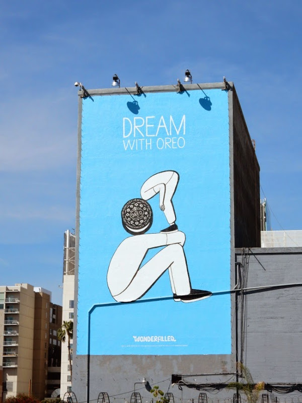 Dream with Oreo Wonderfilled billboard