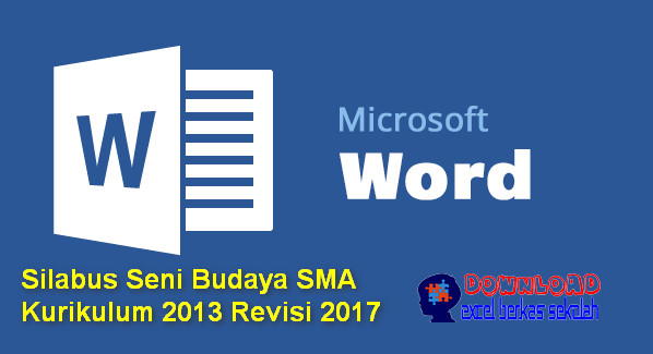 Silabus Seni Budaya SMA Kurikulum 2013 Revisi 2017