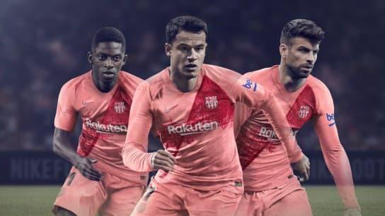 FCバルセロナ 2018-19 ユニフォーム-サード
