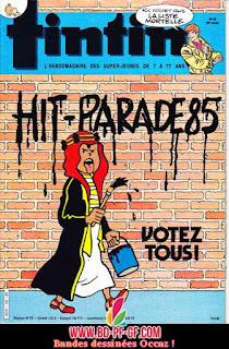 Fascicule Tintin, numéro 20, année 1985
