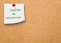 Tablón anuncios Colegio Consolación Vila-real
