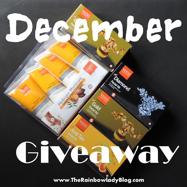 December Giveaway featuring VLCC goodies