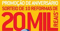 Promoção 10 Reformas Telha Norte www.dezreformastelhanorte.com.br