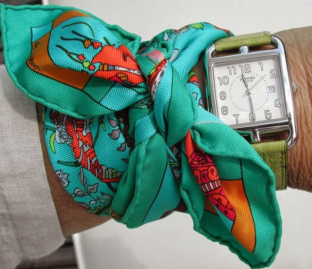 10 Unique Ways To Use A Hermes Scarf