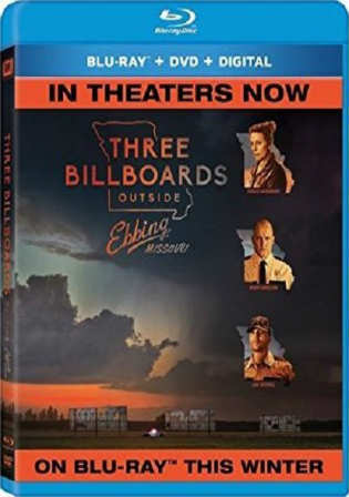 Three Billboards Outside Ebbing Missouri 2017 BRRip 900MB Hindi Dual Audio 720p Watch Online Full Movie Download bolly4u