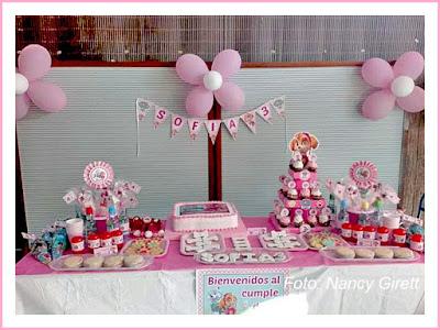 kit cumpleaños Skye y Everest niña