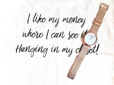 Tasje + Horloge