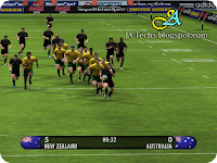 EA Sports Rugby 08 Gameplay 1