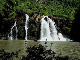 Cascata da Usina, em Nova Prata