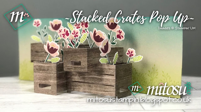 Stampin' Up! Stacked Wood Crates Jar of Love Pop Up Card Order SU Stampinup Products from Mitosu Crafts, UK Online Shop 1
