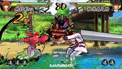 samurai x psp