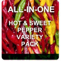 All-in-One Hot & Sweet Pepper Variety Pack