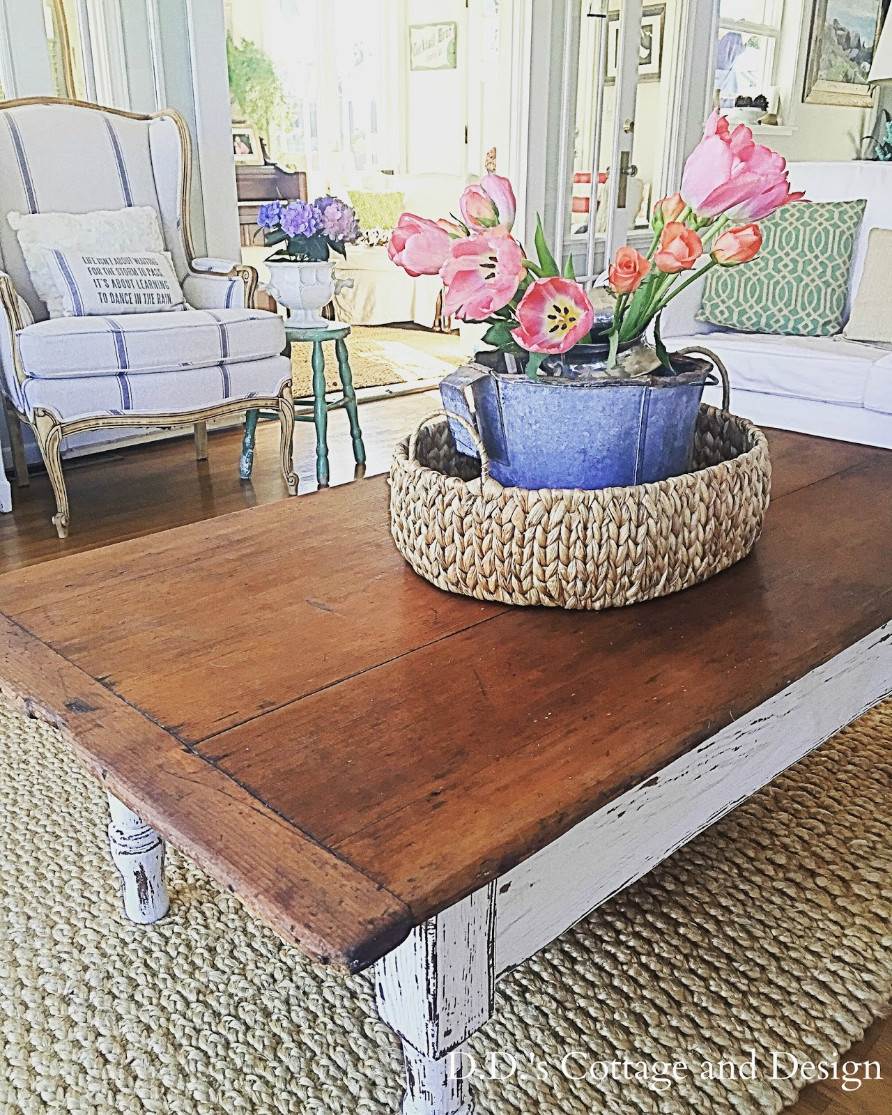 D D s Cottage and Design My Vintage Farm Table