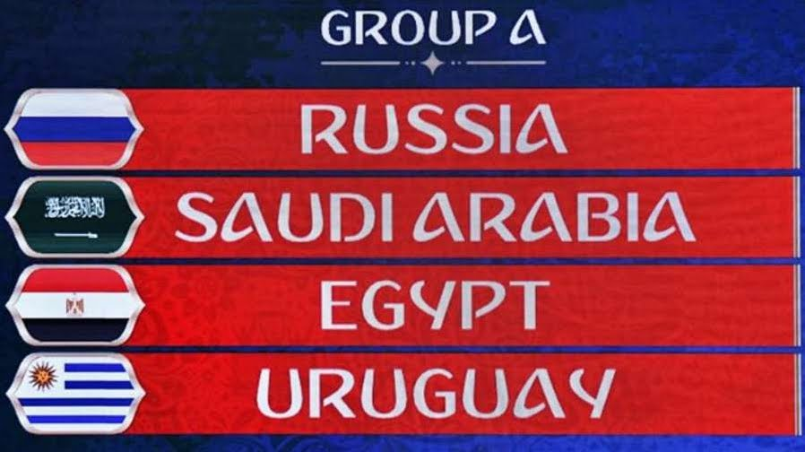 Russia 2018: risultati partite Gruppo A con Uruguay Russia Egitto Arabia Saudita | Mondiali di Calcio