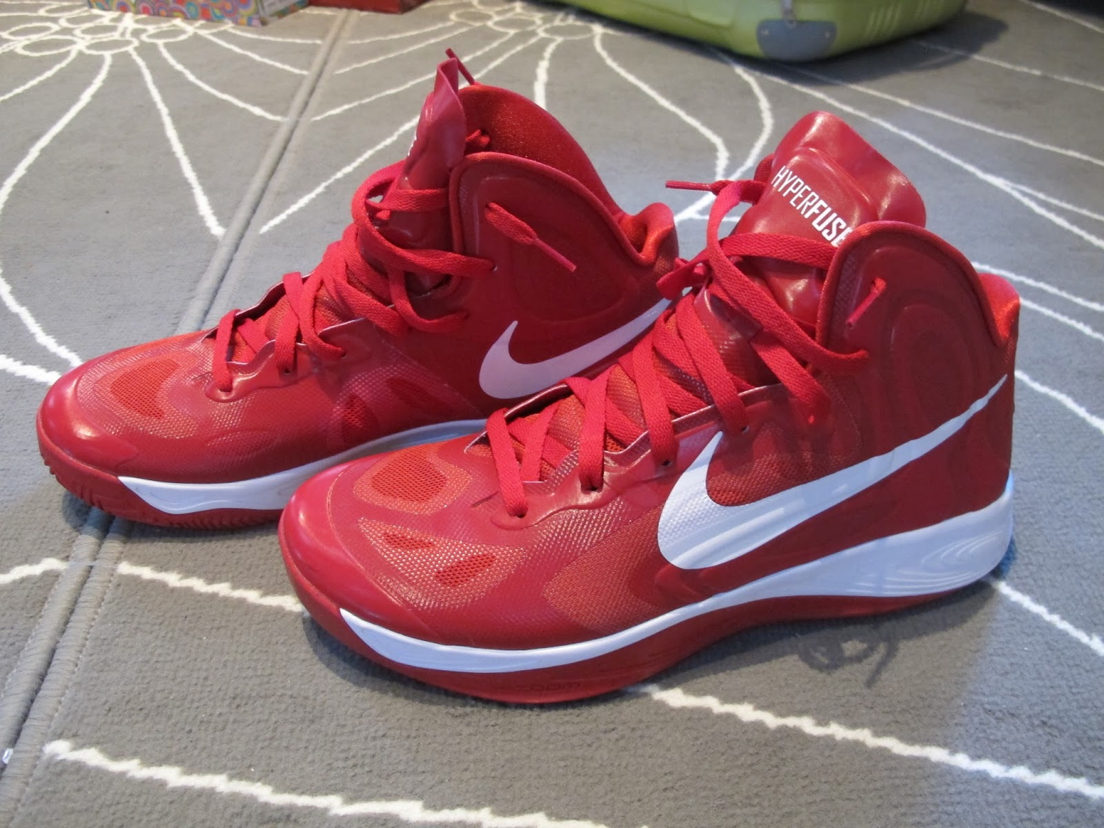 the best attitude b4125 650e1 Nike Zoom Hyperfuse 2012 High TB Edition - Red, White (525019-600)
