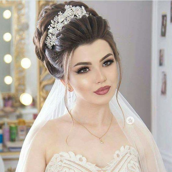 738180bfe صور تسريحات 2018 احدث قصات شعر للعروس - مصراوى الشامل